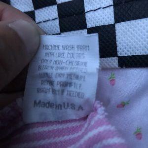 Vintage Oshkosh pink striped overalls